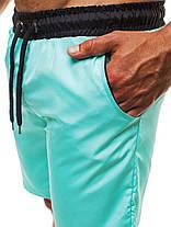 Мужские шорты Athletic бирюза, фото 2