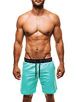 Мужские шорты Athletic бирюза, фото 3
