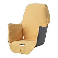 LANGUR, вкладыш в детское кресло для кормления, желтый