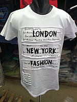 "Стильная мужская футболка "" London """