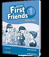 Рабочая тетрадь First Friends 1 второе издание, Susan Iannuzzi   Oxford