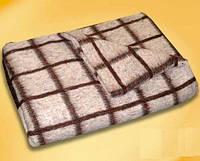 Полушерстяное полуторное одеяло Vladi 140*205 солдатское