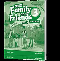 Рабочая тетрадь Family and Friends 3 второе издание, Liz Driscoll   Oxford