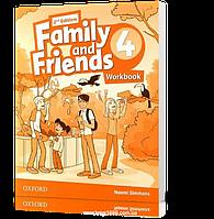 Рабочая тетрадь Family and Friends 4 второе издание, Naomi Simmons   Oxford