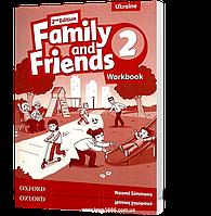 Рабочая тетрадь Family and Friends 2 второе издание, Naomi Simmons | Oxford