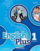 Учебник English Plus 1, второе издание, Ben Wetz | Oxford