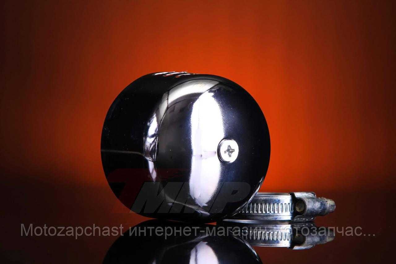 Фильтр нулевого сопротивления d=35mm с хромированным колпачком