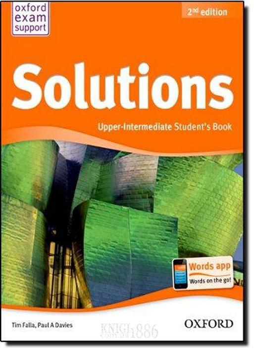Учебник solutions upper-intermediate, второе издание, tim falla.