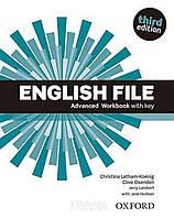 Рабочая тетрадь English File Advanced, третье издание, Christina Latham-Koenig   Oxford