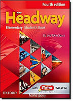 Учебник с онлайн дополнением New Headway Elementary A1-A2, Liz Soars   OXFORD