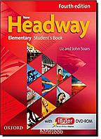 Учебник с онлайн дополнением New Headway Elementary A1-A2, Liz Soars | OXFORD