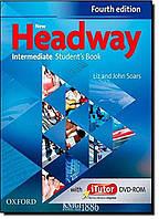 Учебник с онлайн дополнением New Headway Intermediate B1, Liz Soars   OXFORD