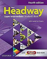 Учебник с онлайн дополнением New Headway Upper-Intermediate B2, John Soars | OXFORD