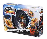 Волчок 2 в 1 Infinity Nado Серия Сплит Battle Buddha (Боевой Будда) и Blast Flame (Боевой Медведь)