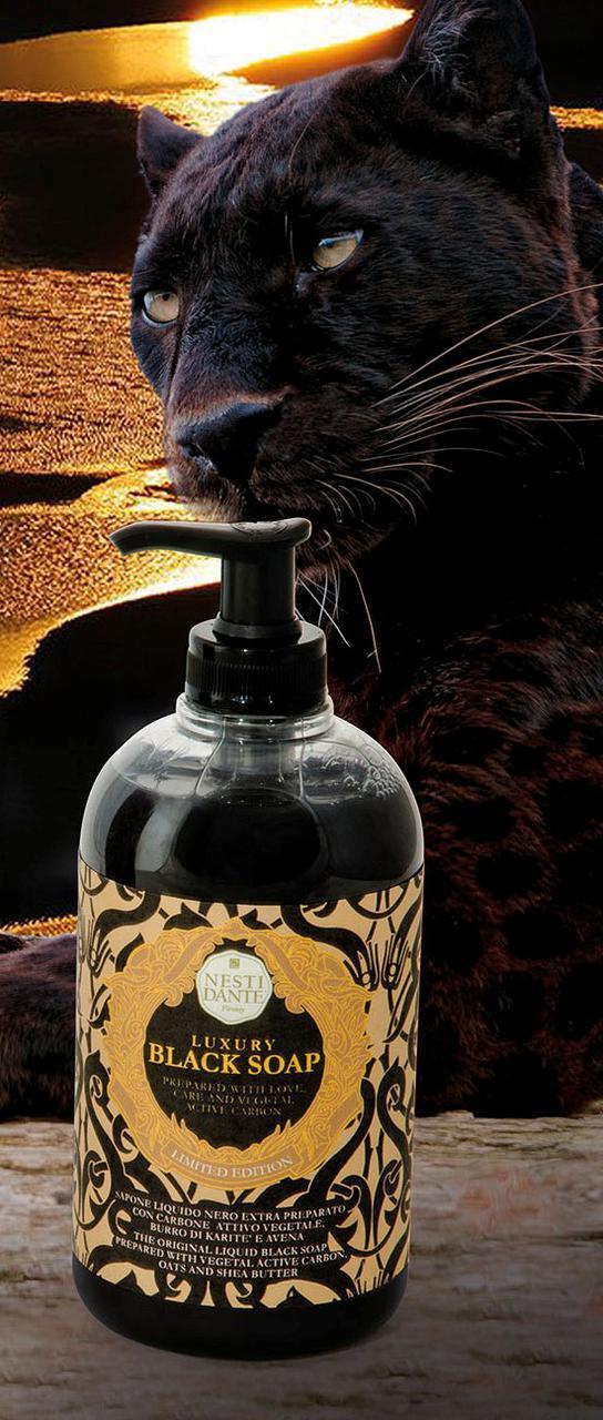 Жидкое мыло Nesti Dante Luxury Black Черное 500мл