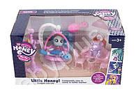 Кукла My Little Honey 702 с аксессуарами и мебелью
