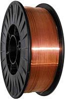 Проволока сварочная омедненная СВ08Г2С (ER70S-6) 1,0 мм 15 кг