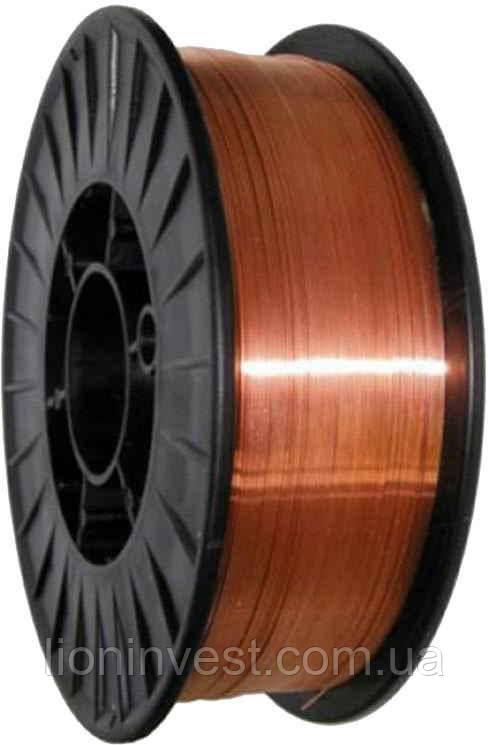 Проволока сварочная омедненная СВ08Г2С (ER70S-6) 1,6 мм 15 кг
