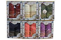 Набор махровых полотенец 2шт. в подарочной упаковке (Турция, 100% хлопок)