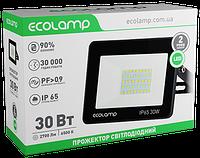 Прожектор світлодіодний 30W алюмінієвий корпус Ecolamp