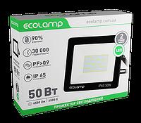 Прожектор світлодіодний 50W алюмінієвий корпус Ecolamp