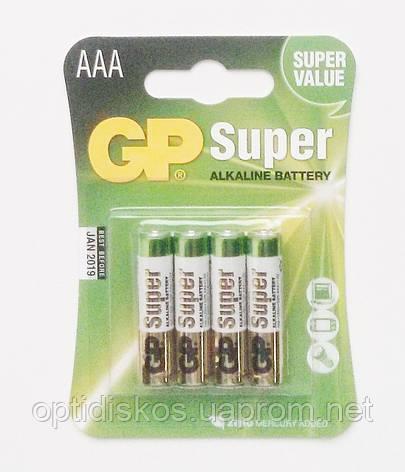 Батарейка GP SUPER LR03,AAA, фото 2