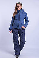 Куртка женская лыжная Темно-синий