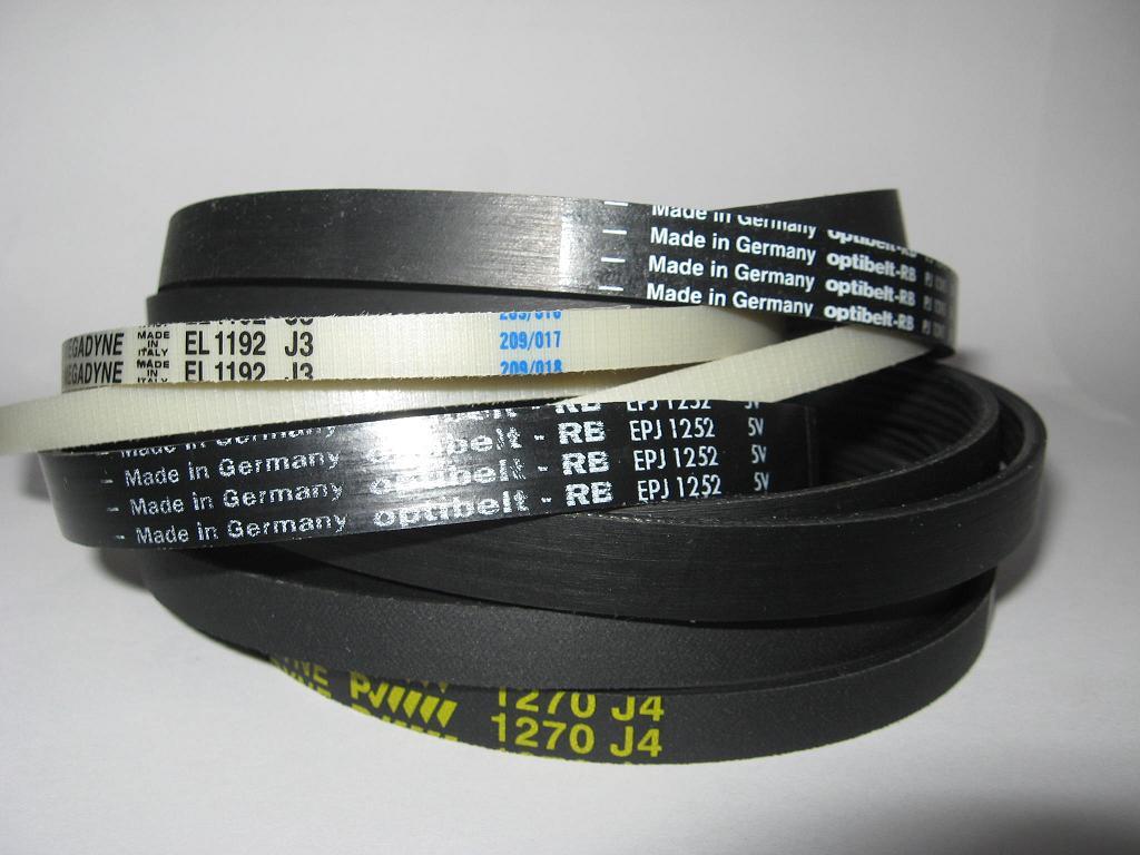 Ремень для стиральных машин (черный) 1162 H7