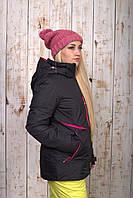 Куртка женская лыжная Черный