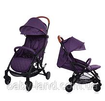 Коляска детская прогулочная с дождевиком CARRELLO Pilot CRL-1418 Purple Iris