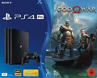 Игровая приставка Sony PlayStation 4 Pro 1TB + игра God of War 4