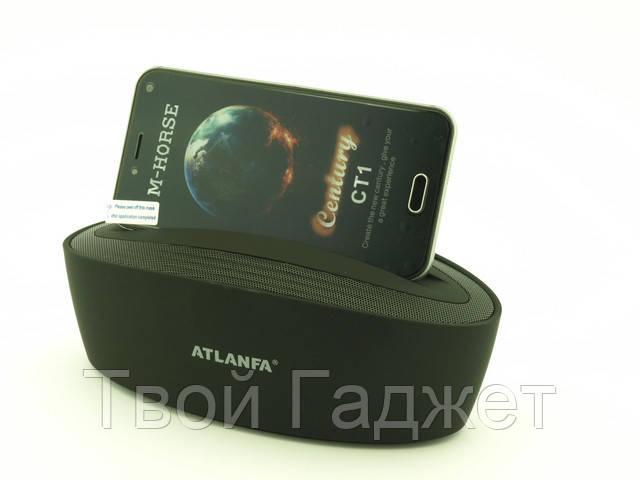 Портативная стерео-колонка с подставкой Bluetooth, USB, SD, FM-приемником ATLANFA AT-7755