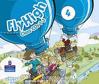 Аудио-диск «Fly High», уровень 4, Jeanne Perrett, Charlotte Covil, Danae Kozanoglou | Pearson-Longman