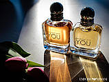 Giorgio Armani Emporio Armani Because It's You парфюмированная вода 100 ml. (Джорджио Армани Бекос Итс Ю), фото 5