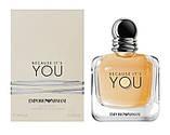Giorgio Armani Emporio Armani Because it's You парфумована вода 100 ml. (Тестер Армані Бекос Ітс Ю), фото 3