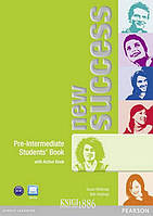 Учебник «New Success», уровень (A2) Pre-Intermediate, Jeremy Day, Rod Fricker, Bob Hastings, Grant Kempton, Jo Kent   Pearson-Longman