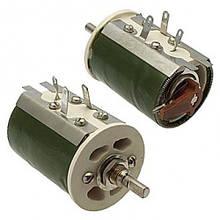 Резистор ППБ-50Г13 33 Ом±10% переменный, проволочный, регулировочный
