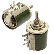 Резистор ППБ-25Г13 22 Ом±10% переменный, проволочный, регулировочный
