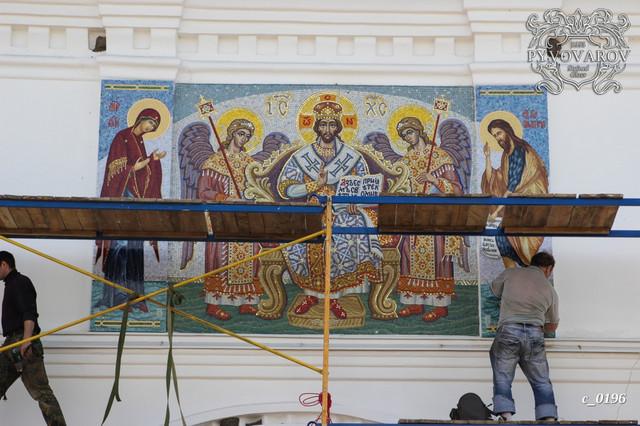 Ростовые Иконы на фасад храма