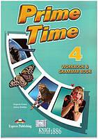 Рабочая тетрадь с грамматикой «Prime Time», уровень 4, Virginia Evans | Exspress Publishing