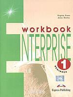 Рабочая тетрадь «Enterprise», уровень 1, Virginia Evans | Exspress Publishing