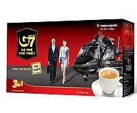 Вьетнамский натуральный растворимый кофе 3в1 G7 Trung Nguyen