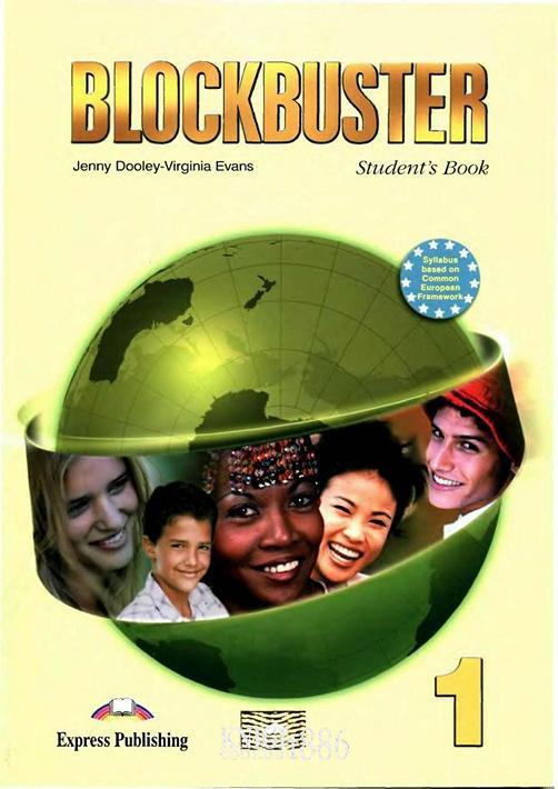 Учебник «Blockbuster», уровень 1, Jenny Dooley | Exspress Publishing