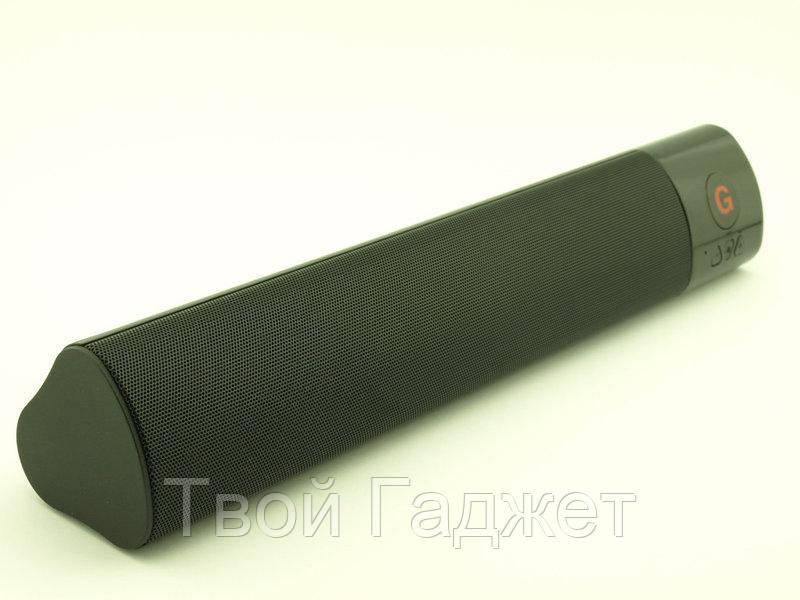 Портативная Bluetooth стерео-колонка с USB/SD/FM и 2 сабвуферами 12W WM-1300