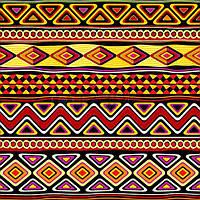 "Трансфер ""Африканский орнамент 2"", фото 1"