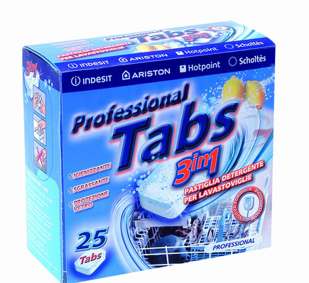 Таблетки для посудомоечных машин 3 в 1 (C00090528)