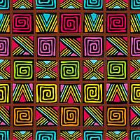 "Трансфер ""Африканский орнамент 3"", фото 1"