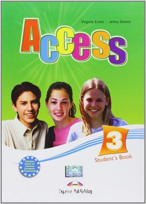 Учебник «Access», уровень 3, Virginia Evans | Exspress Publishing
