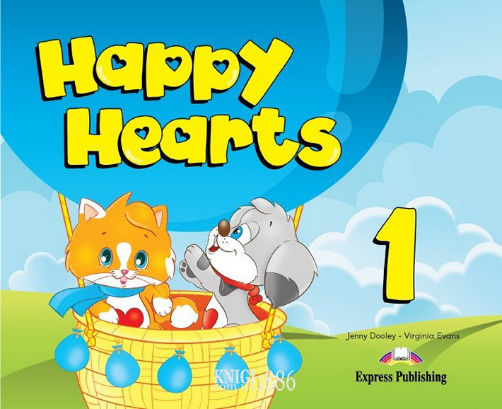 Учебник «Happy Hearts», уровень 1, Jenny Dooley | Exspress Publishing