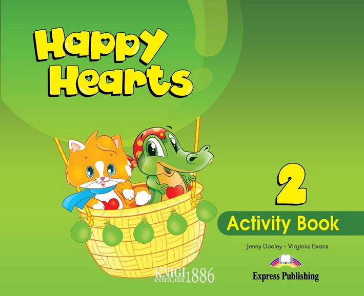 Рабочая тетрадь «Happy Hearts», уровень 2, Jenny Dooley | Exspress Publishing